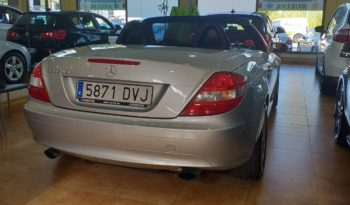 MERCEDES SLK 200 AUT full